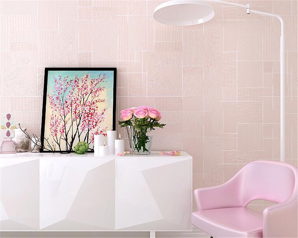 beibehang papel de parede duvar kagit Non-woven bedroom background wall living room TV plain color wallpaper hudas beauty beibehang wallpaper modern simple bedroom living room tv background papel de parede large flower non woven wall paper