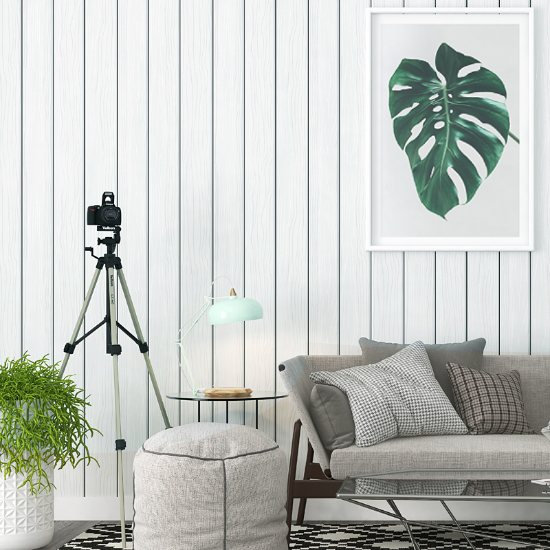 Modern High-grade Gray Wood Pattern Wallpaper Nordic Living Room TV Background Wall Paper Wood Papel De Parede beautiful net color decorative pattern design of modern household wall paint murals background wallpaper with high quality papel