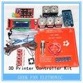 Drv8825 + rampas 1.4 + Mega2560 R3 + Hot end 3D Kit controlador de impressora para RepRap KIT054