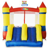 YARD Home Use Mini Inflatable Bouncy Castle Kids Outdoor Inflatable Games Bouncer House Ship By Express Door To Door Christmas