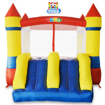YARD Mini Inflatable Bouncy Castle Kid Outdoor Inflatable Trampoline Children Inflatable Play House KIDS Christmas Birthday Gift - DISCOUNT ITEM  39% OFF All Category