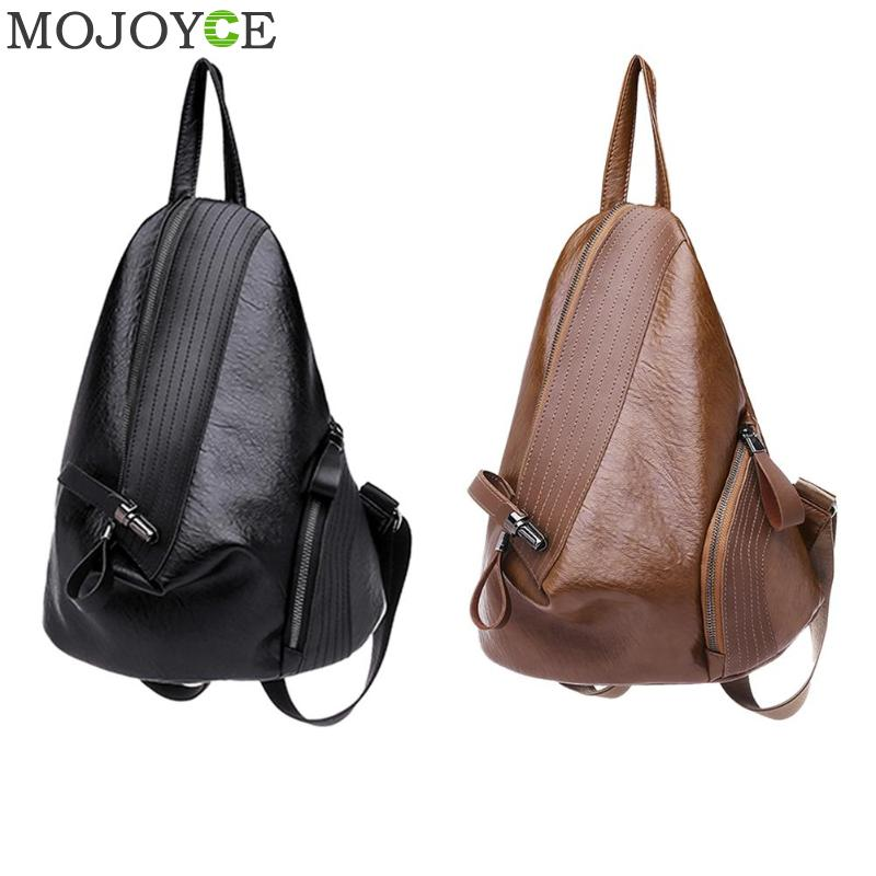 Creative Leisure Women Backpacks Women's Pu Leather Backpacks Female School Shoulder Bags For Teenage Girls Travel Back Pack #1