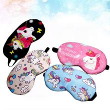 Women's Unicorn Patterned Sleeping Mask
