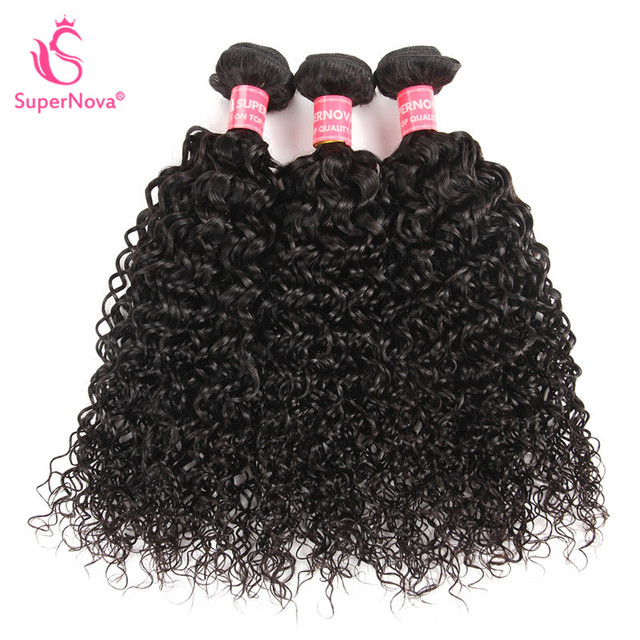 Afro Kinky Curly Hair Brazilian Hair Weave Bundles Human Hair