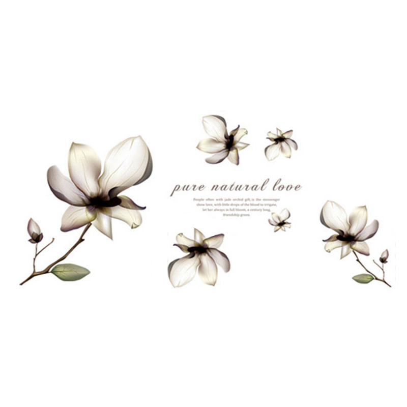 popular orchid wall sticker buy cheap orchid wall sticker