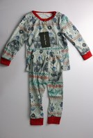 New Years Thin Print Christmas Family Outfit Set Matching Family Christmas Pajamas AF 1873