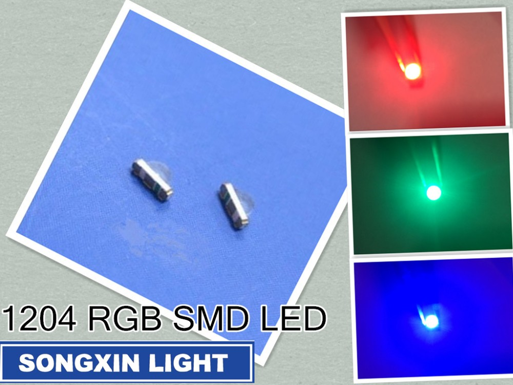 smd led white red blue yellow orange green 1206 3.2mm×1.6mm 3216
