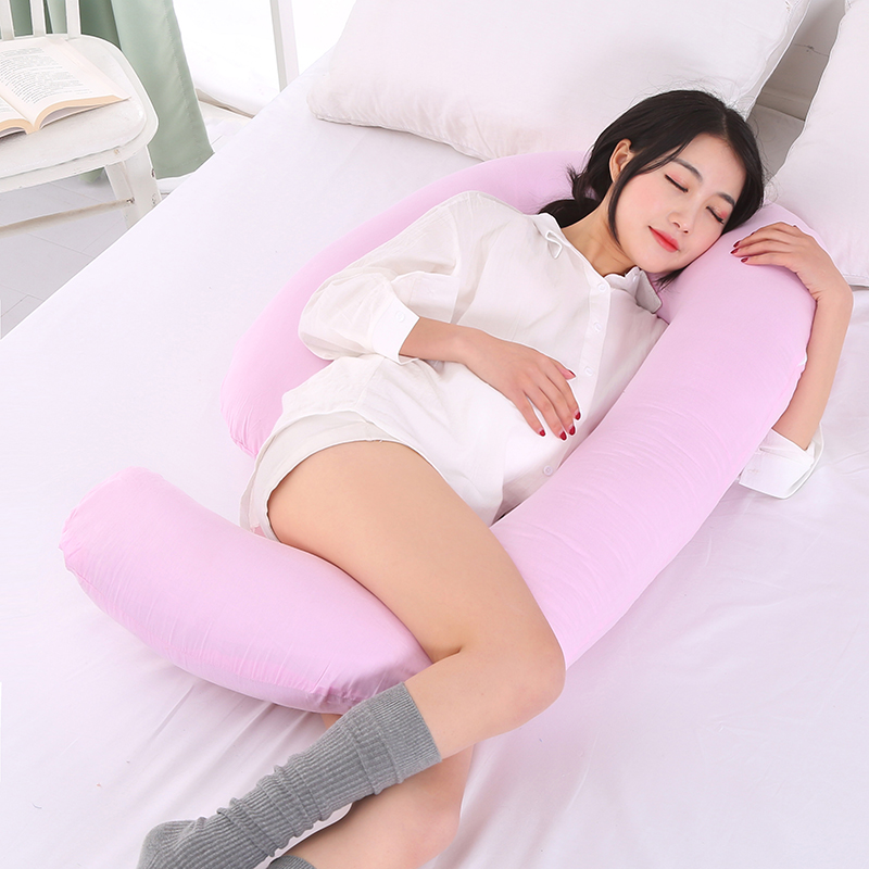 Sleeping Support Pillow For Pregnant Women Body Comfort G Shape Pregnancy Pillow Full Body Maternity Pillow With Pillowcase Подушка