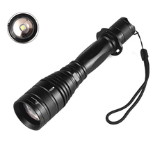 Super bright P55 1800Lumens CREE XHP50 5 mode Outdoor Zoom Spotlight Torch Hunting Tactics LED High Power Use 18650 Flashlight hot super bright wf 501b cree xml t6 1000 lumens 18650 1 mode outdoor waterproof spotlight torch hunting tactics led flashlight