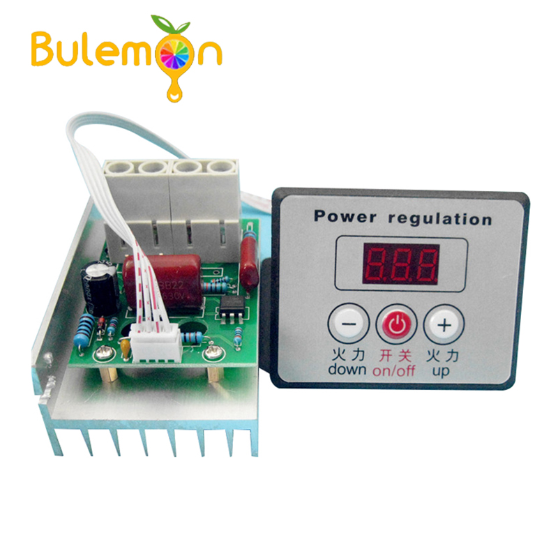 Smokeless electric oven digital thermostat module commercial grill controller thermostat module 220V 380V 10000W