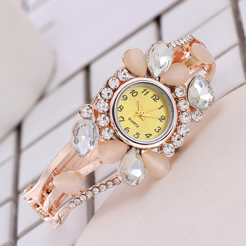Women's Watches Fashion Rose Gold Flowers