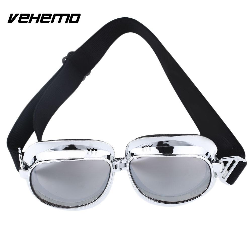 Vehemo Motorcycles Goggles Eyewear Dustproof Windproof Motocross Racing Safety