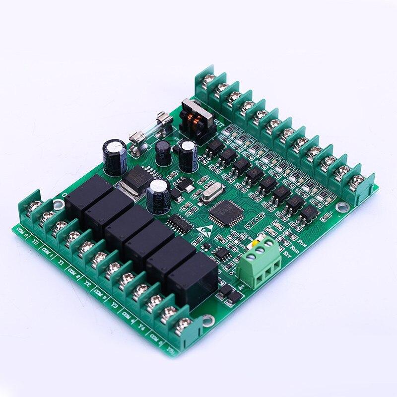 IAP upgrade version PLC control board FX1N 14MR online monitoring RS485 interface FX1N-14MR plc srt2 od04