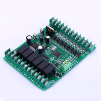 IAP upgrade version PLC control board FX1N 14MR online monitoring RS485 interface FX1N-14MR