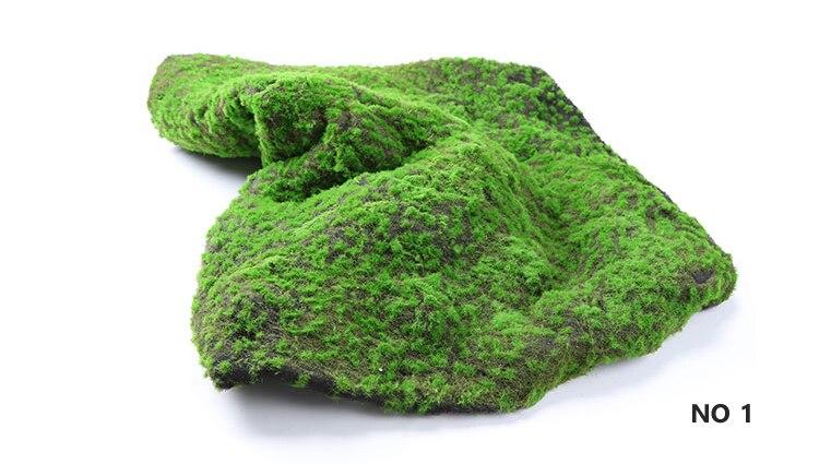 No.1 gazon de mousse artificielle 1 m X 1 m bricolage herbe pelouse paysage fée jardin Simulation plantes maison hôtel mur décor 1 pièces
