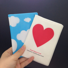 Wholesale Passport Cover Passport Holder + Luggage Tag + Silicone Strap Love and Clouds Two Kinds of Styles