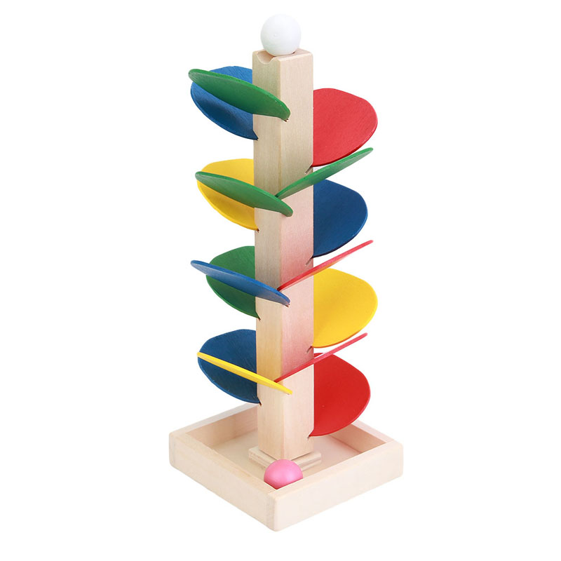 Model Building Blocks 2018 Wooden Tree Ball Run Track Creativity Education Tool Toys Game Wooden Toys For Children Baby Kids Intelligence Set Fragrant Aroma