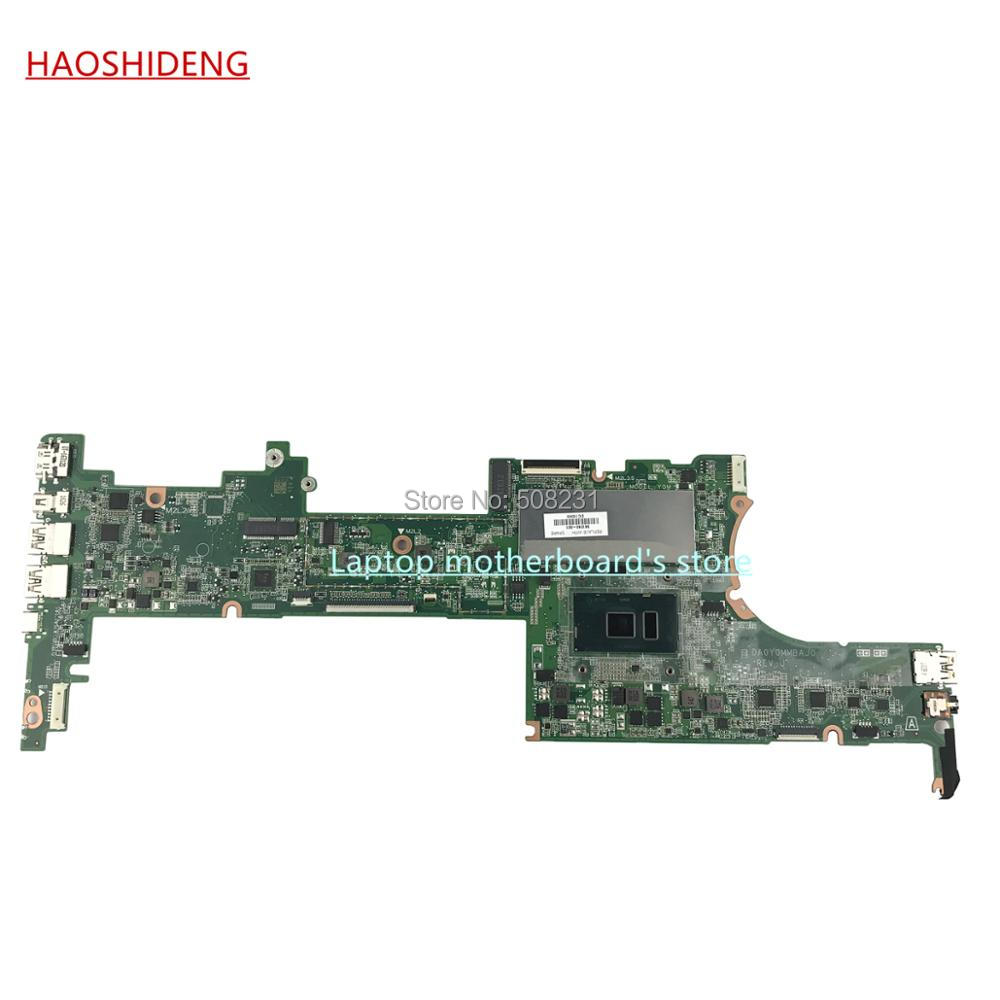 HAOSHIDENG 828825-601 DA0Y0MMBAJ0 mainboard for HP Spectre X360 15-AP 15T-AP 15-AP012DX Motherboard with i7-6500U 16G