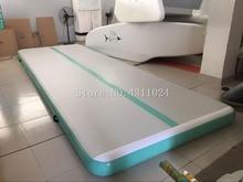 Бесплатная доставка от двери до двери 6x1x0,2 м гимнастика надувная воздушная дорожка Tumbling коврик для спортзала AirTrack для продажи