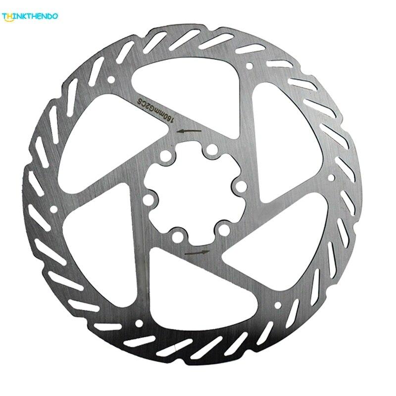 Ersätze Radfahren Fahrrad Mountainbike Bremsscheibe Rotor 160mm Bolzen mit 6