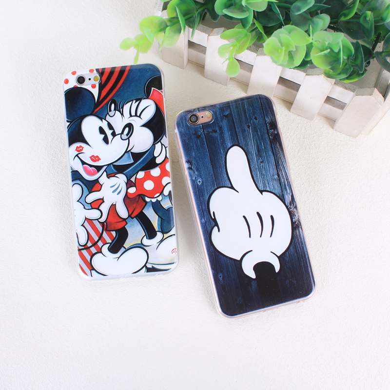 Funny Minnie Soft TPU Case for <font><b>coque</b></font> <font><b>iPhone</b></font> 7 7 Plus 6s <font><b>6</b></font> 5 5s SE Silicone Covers Accessories image
