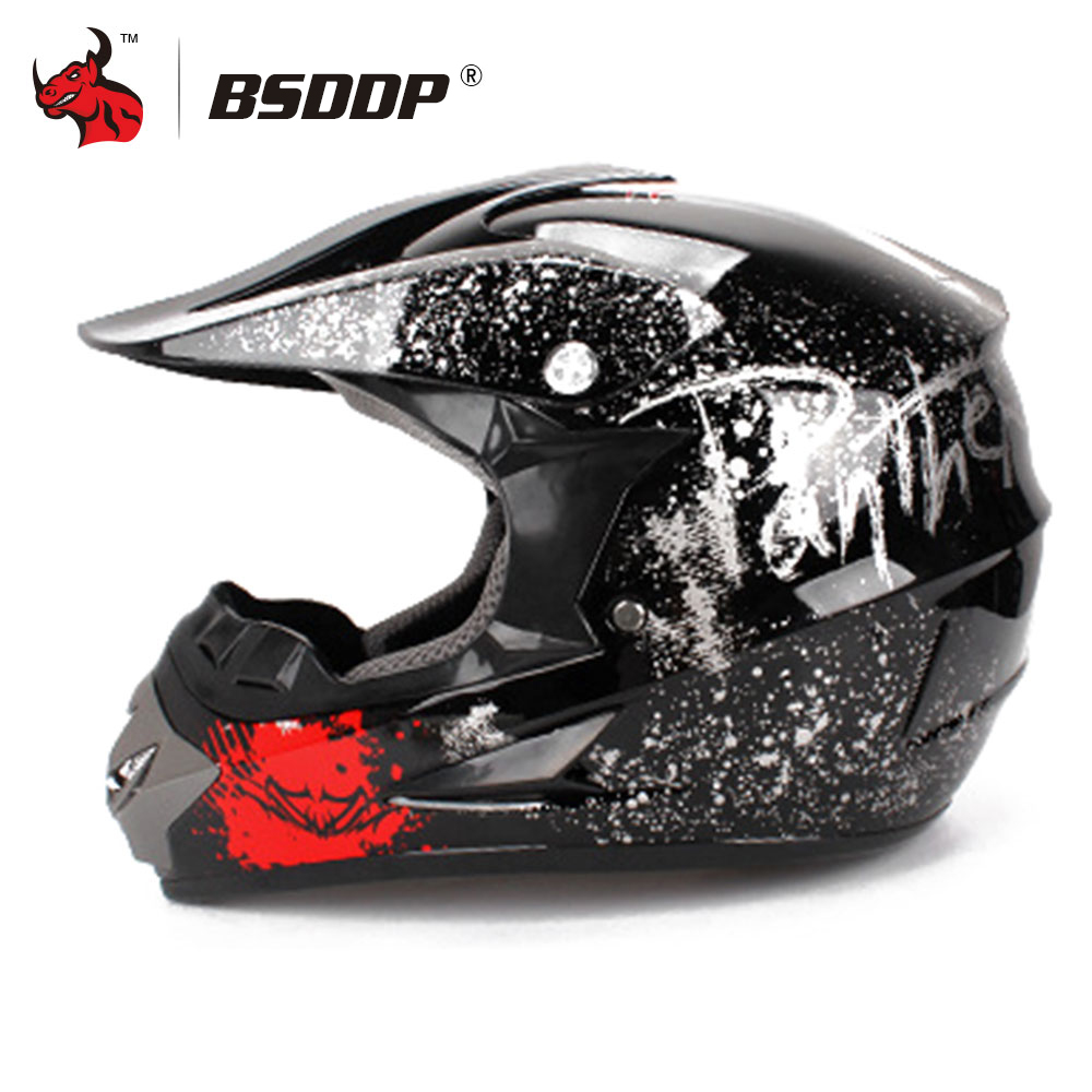 купить New Motorcycle Helmet Riding Cruiser Biker Motocross Off Road Professional ATV Cross Helmets Racing Dirt Bike Casco Moto Helmet онлайн