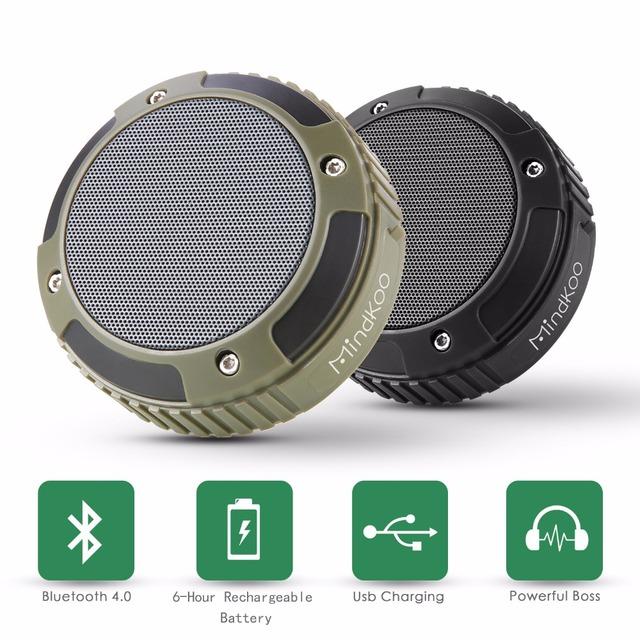 Mindkoo inteligente mini parlantes bluetooth wireless speaker portátil caixa de som ao ar livre da coluna woofer sistema acústico orador