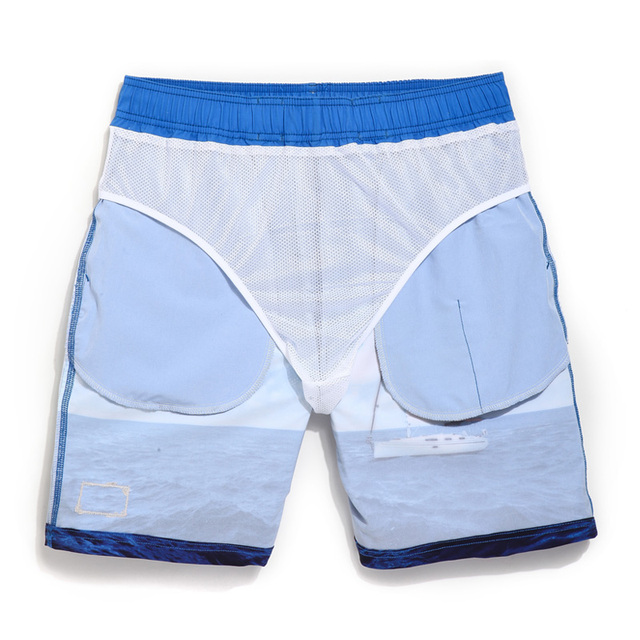 Gailang Brand Men's Beach Shorts Board Boxer Trunks Men Bermuda Swimwear Swimsuits Boxers Plus Size Quick Dry Trunks