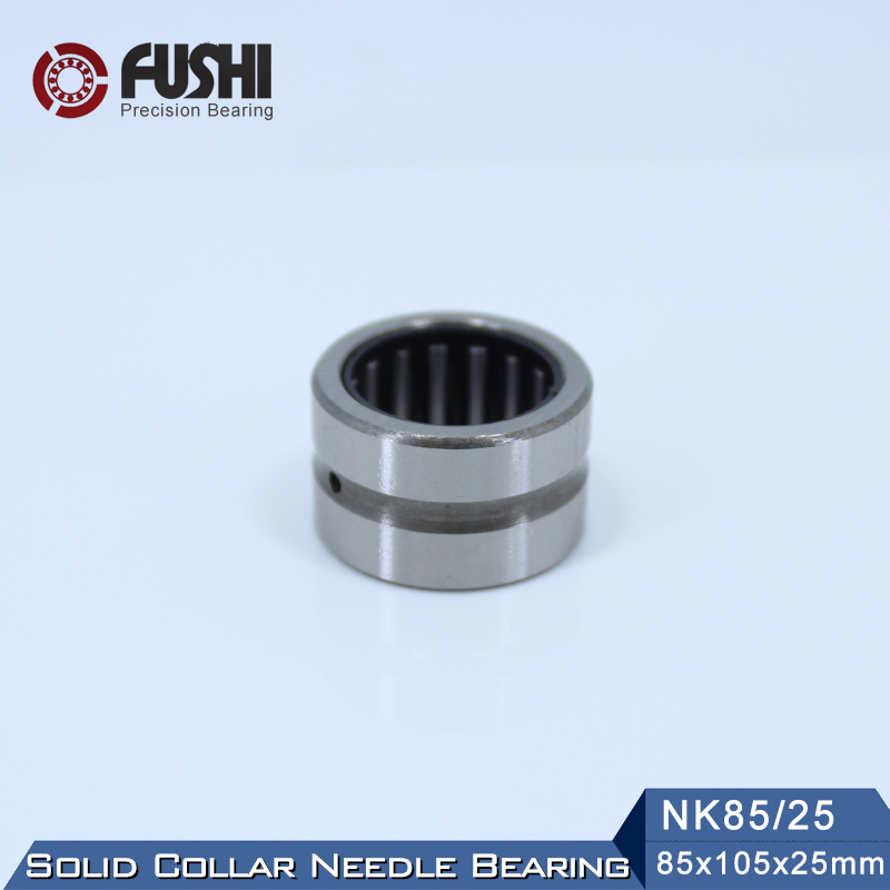 NK85/25 Bearing 85*105*25 mm ( 1 PC ) Solid Collar Needle Roller Bearings Without Inner Ring NK85/25 NK8525 Bearing nk25 30 needle roller bearing without inner ring size 25 33 30mm