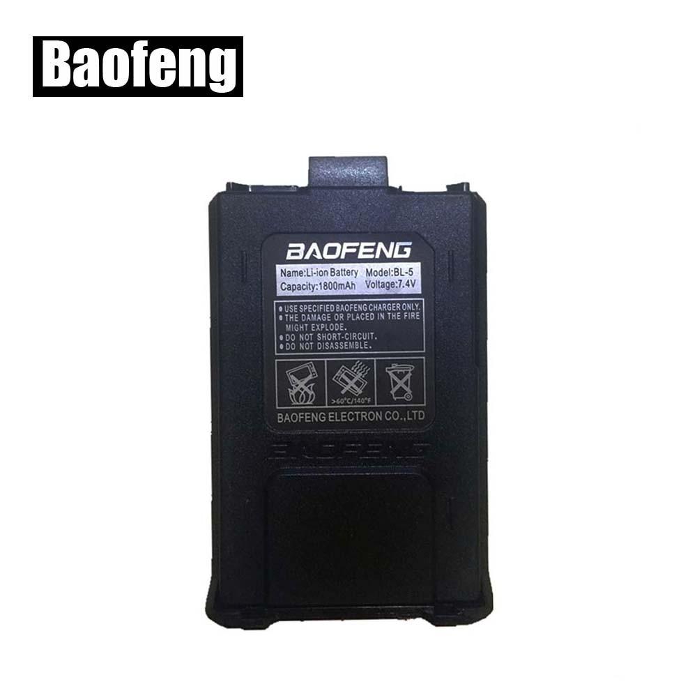 Original Baofeng Cb Radio Parts Walkie Talkie Li-ion Battery 1800mah Baofeng Uv-5r Accessories For 5RA 5RE Uv5r Baofeng Battery