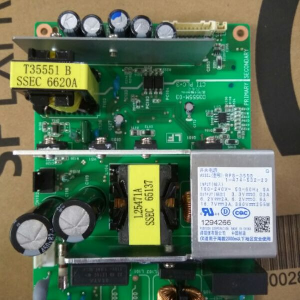 Projector Main Power Supply Board Fit for SONY VPL-EX234 RPS-3555 1-47-532-23Projector Main Power Supply Board Fit for SONY VPL-EX234 RPS-3555 1-47-532-23