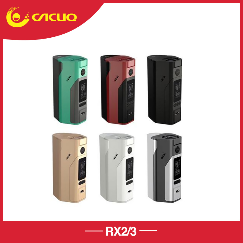 In stock Original Wismec Reuleaux RX2 3 Box Mod updated RX200 150W or 200W power output