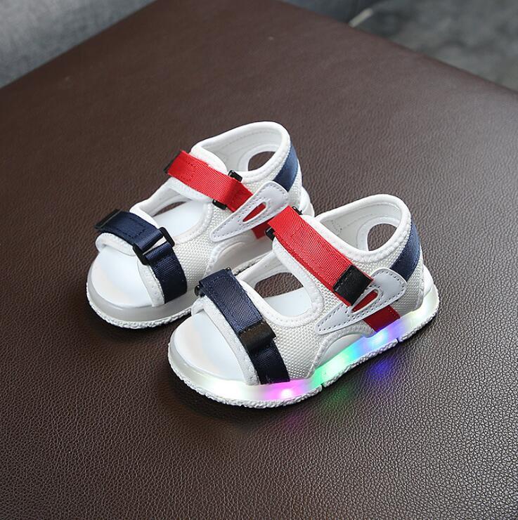 Summer Led Light Shoes Children Sandals Boys GirlsSandals Kids Baby Luminous ShoesSummer Led Light Shoes Children Sandals Boys GirlsSandals Kids Baby Luminous Shoes