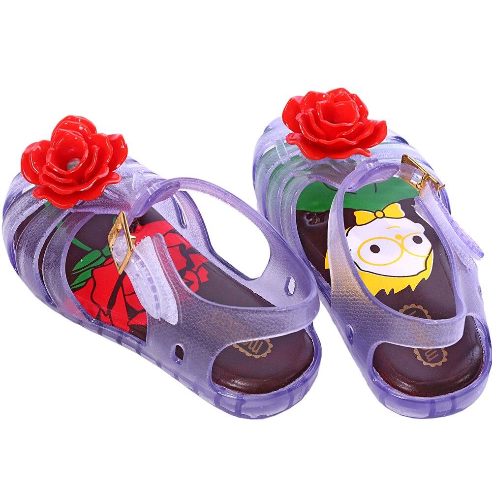Transparan Besar Bunga Sandal Sepatu Jelly Mawar Merah Muda Daftar Lusty Bunny Bunyi Renda 2 Fuschia21 Mini Memon Untuk Anak Perempuan Gaya Gadis Cetak Insole Pvs Kait