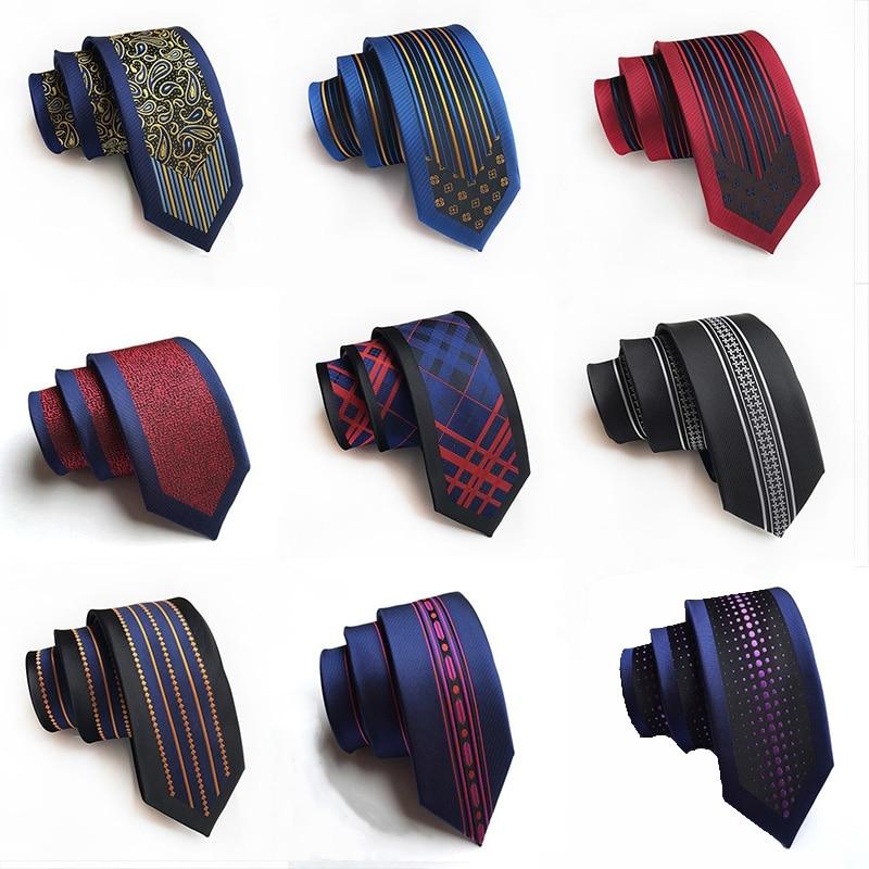 New Arrival Men's Ties 6cm Skinny Silk Tie Casual Fashion British Style Wedding Narrow Necktie  Gifts For Men