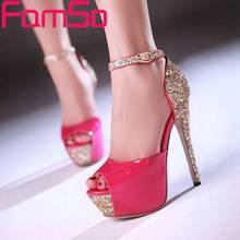 พลัสSize34-43 2016รองเท้าผู้หญิงg ladiatorรองเท้าสุภาพสตรีรองเท้าแต่งงานเพียงครั้งเดียวรองเท้าส้นสูงสีดำซิลเวอร์โกลด์ฤดูร้อนปั๊มPS51