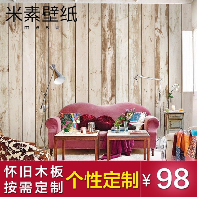 prime hout slaapkamer muurschildering m grote tv achtergrond behang ...