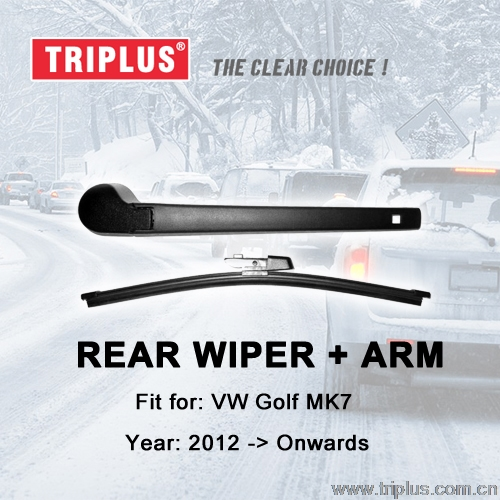 Rear Wiper Arm with Blade for VW GOLF mk7 (2012-Onwards), Rear Wiper Arm & Rear Wiper Blades, Golf 7 Hatchback/Variant/Estate