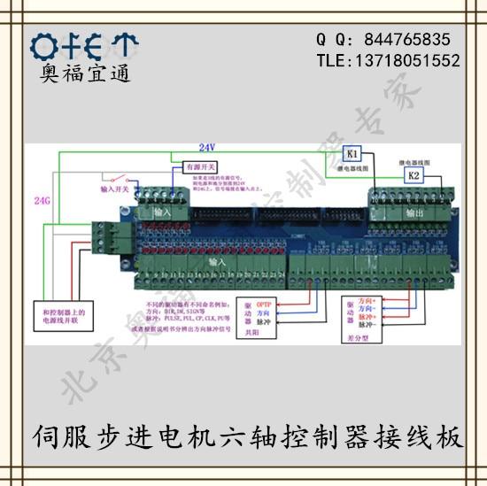 Awe Inspiring Six Axis Controller Wiring Board Stepper Motor Controller Servo Wiring 101 Akebwellnesstrialsorg