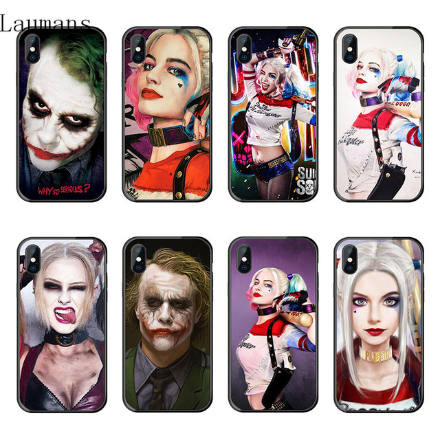 Joker Hand Smile Tattoo Suicide Squad For Iphone 7 Plus Silicone