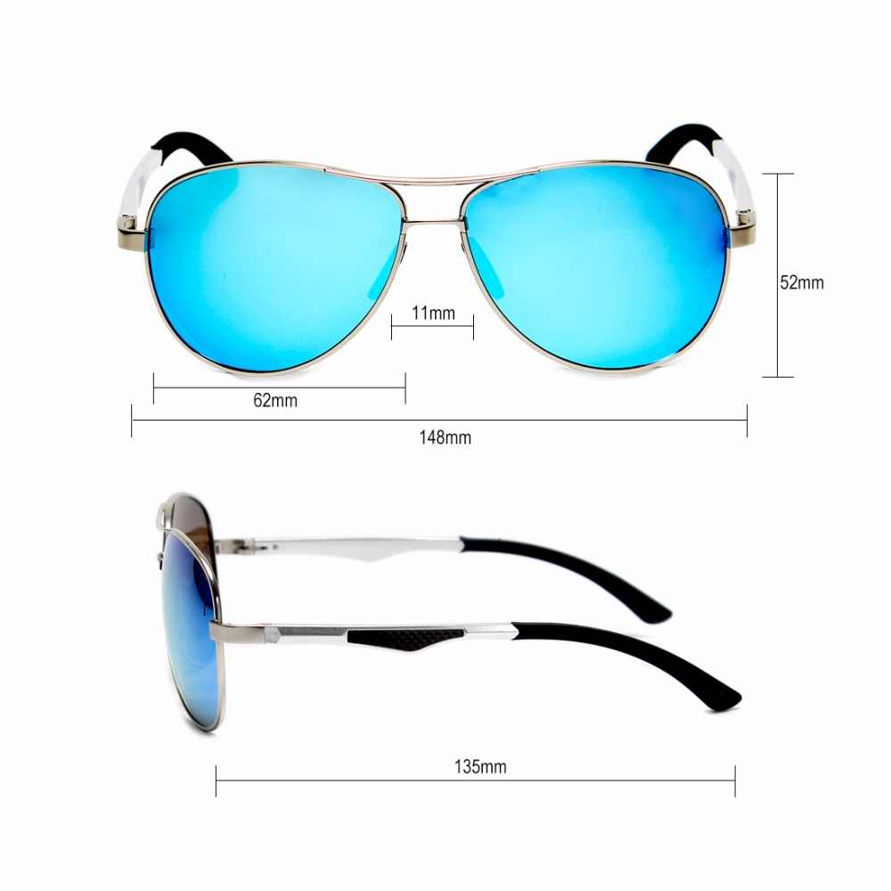 10e09eb71b ... GYsnail luxury brands Pilot Polarized Sunglasses Men Women Aluminium  Magnesium Sun glasses For Male Men's Mirror ...