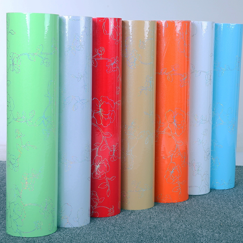5 M/10 M PVC Decorative Film Self adhesive Wallpaper Modern Furniture Renovation Sticker Kitchen Cabinets Waterproof Wall paper high grade pvc boeing film furniture sticker paint film self adhesive waterproof adhesive paper wallpaper wallpaper 255z