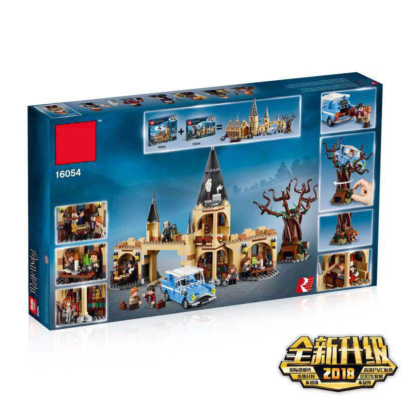 16054 Harri Potter&s Movie The Legoings 75953 Hogwarts Whomping Willow Set Building Blocks Bricks Kids Toy Christmas Gifts Model