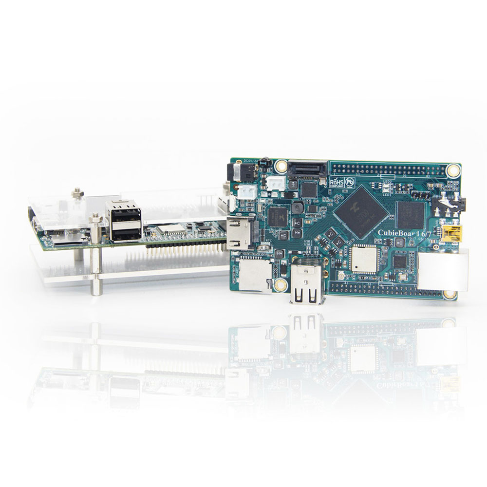 Cubieboard7 Actions SOC S700 ARM Cortex-A53 Quad-Core 2G LP DDR3 8G EMMC Development Board/ Android/linux/Open Source