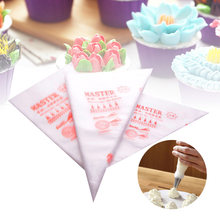 100/200/300PCs Disposable Pastry Bags Icing Piping Cake Pastry Bag DIY Kitchen Baking Cake Cream Pastry Tips Baking Decor Tools(China)