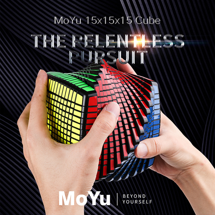MOYU 15 Layers MoYu 15x15x15 Cube Speed Magic Puzzle 15x15 Educational Cubo magico Toys (120mm) on Promotion-in Magic Cubes from Toys & Hobbies    1