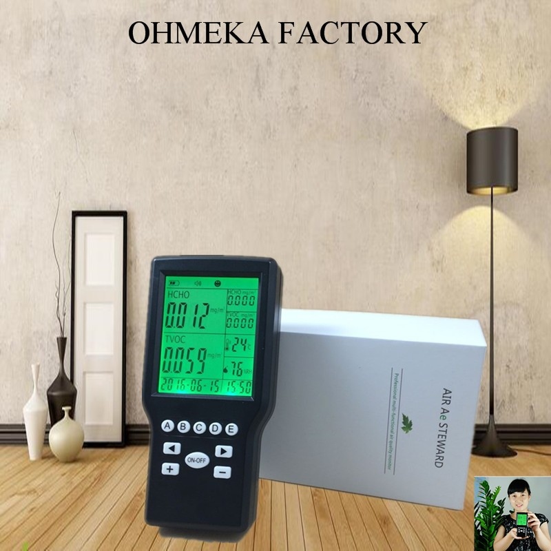 Hot Sale Formaldehyde Detector Indoor Air Quality Formaldehyde Meters 2016 hot sale 3w power car hepa air purifie led display air quality smart design personal for clean indoor pollution