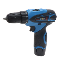 12V high and low speed adjustable lithium drill rechargeable hand drill multi function household electric screwdriver electric