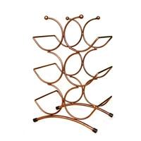 Bronze Wine Holder European Wrought Iron Centipede Wine Rack Six Bottles Creative Fashion Home Decor Metal Crafts Christmas Gift