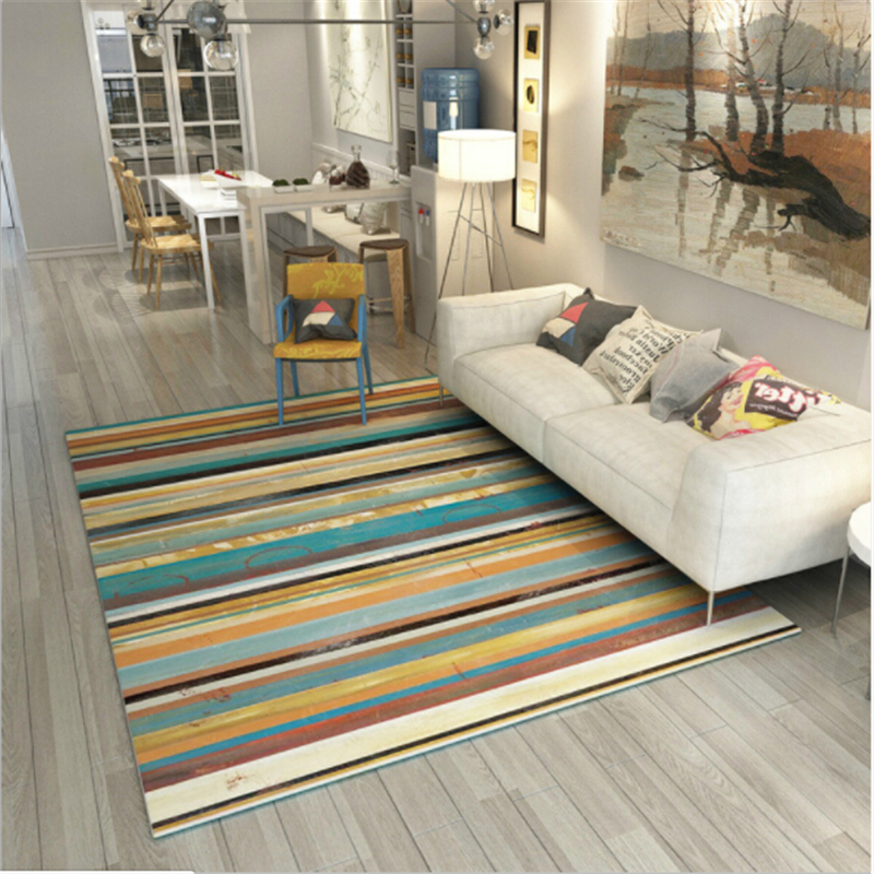 Hot Sale Polyester Soft Abstract Style Modern Large Carpets For Living Room Bedroom Rugs Home Floor New Fashion Carpet Rug Mat
